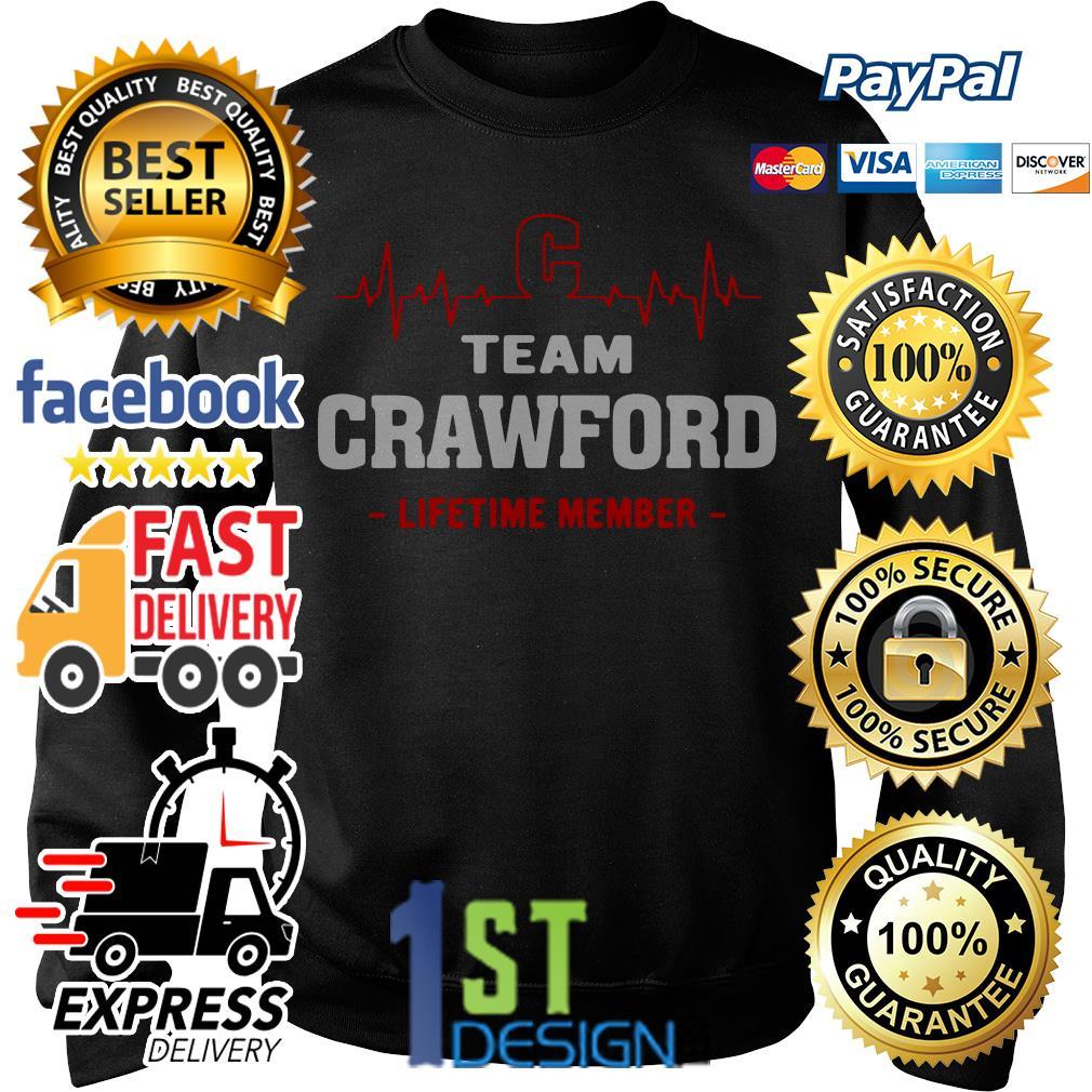 Heartbeat C team Crawford lifetime member Sweater