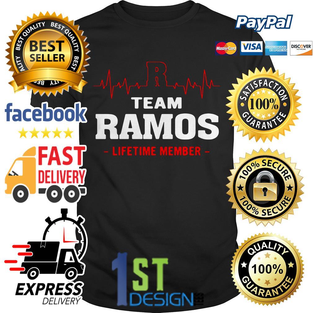 Heartbeat R team Ramos lifetime member Guys shirt