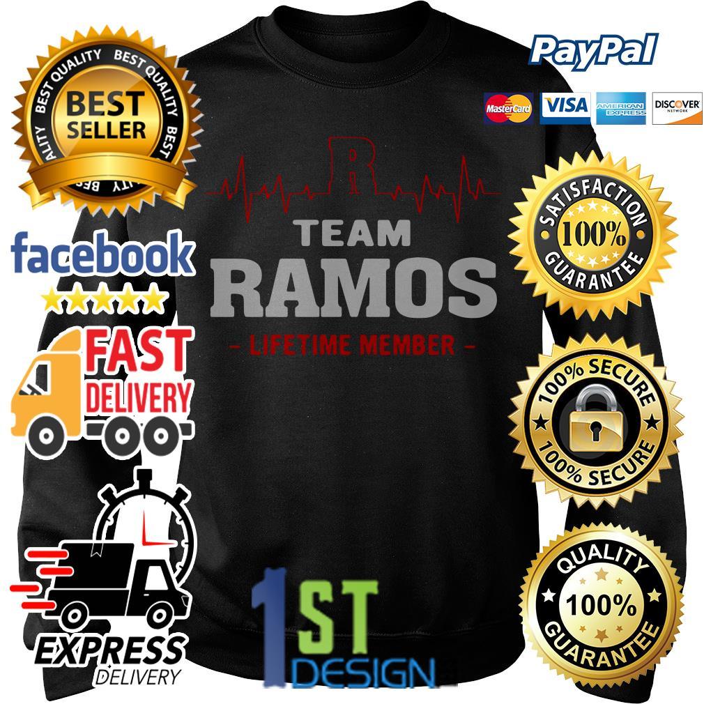 Heartbeat R team Ramos lifetime member Sweater