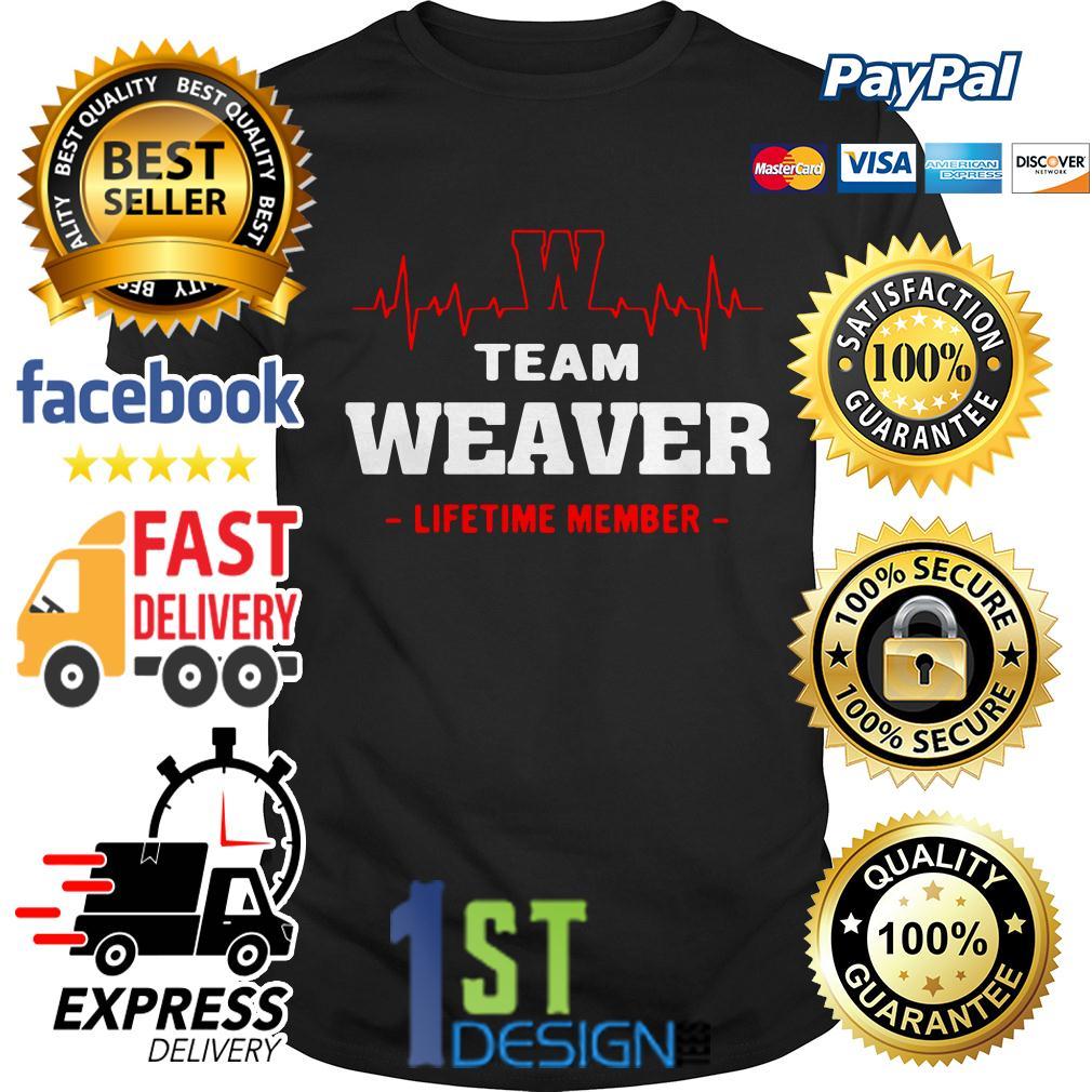 Heatbeat team Weaver lifetime member shirt