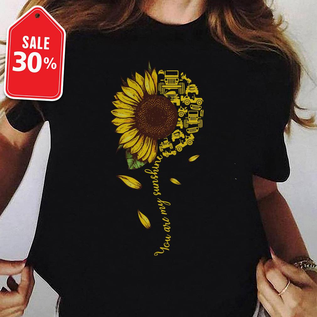Jeep sunflower you are my sunshine T-shirt