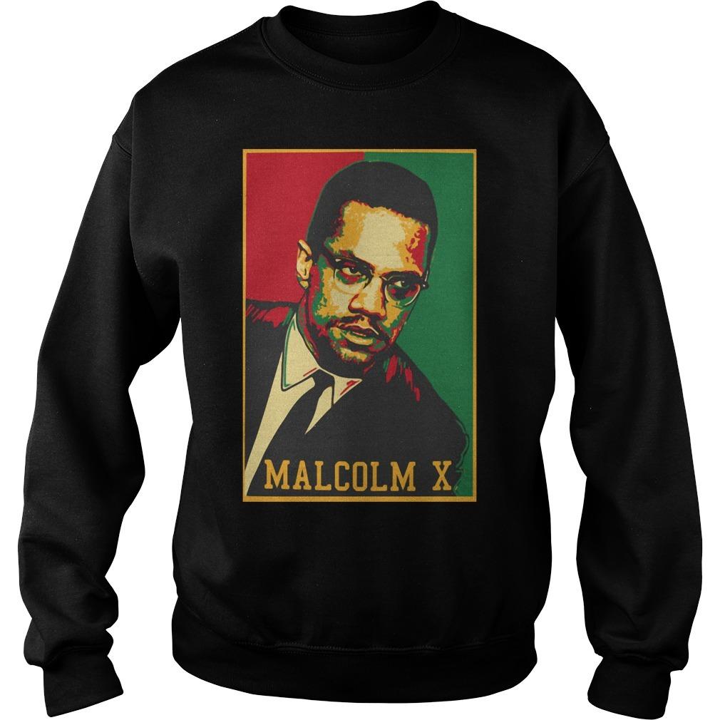 Malcolm X American Muslim Sweater