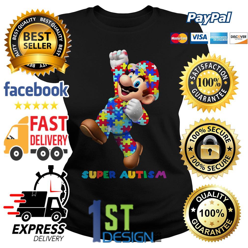 Mario super autism Ladies Tee