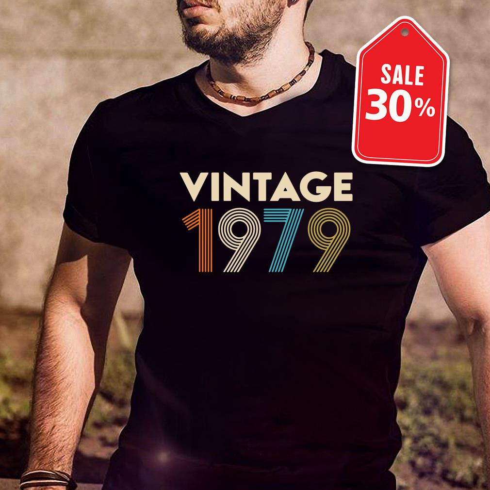 Official vintage 1979 Guys shirt