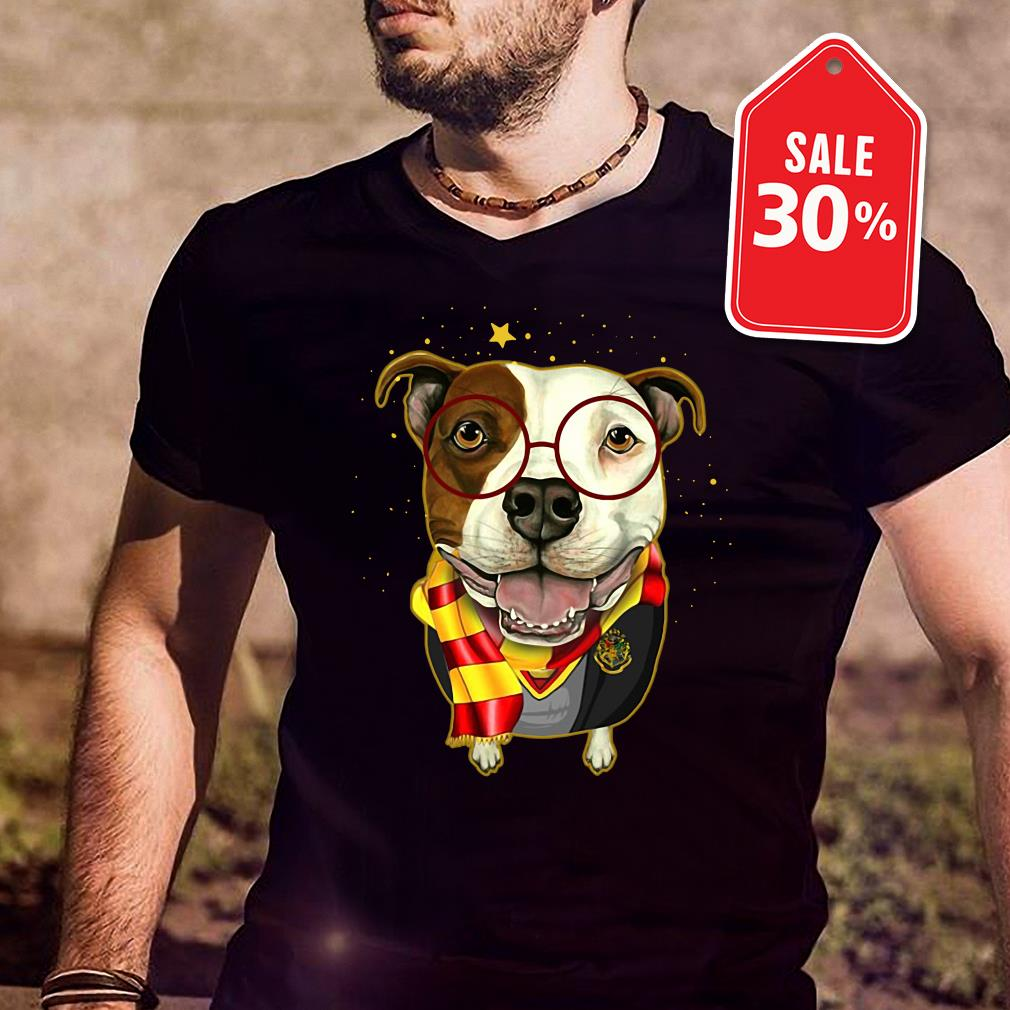 Pitbull Harry Potter Guys shirt
