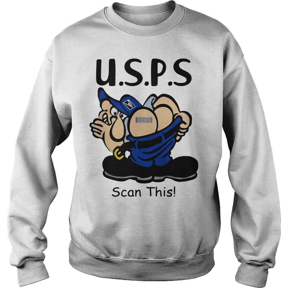 Postal Retirement USPS scan this Sweater
