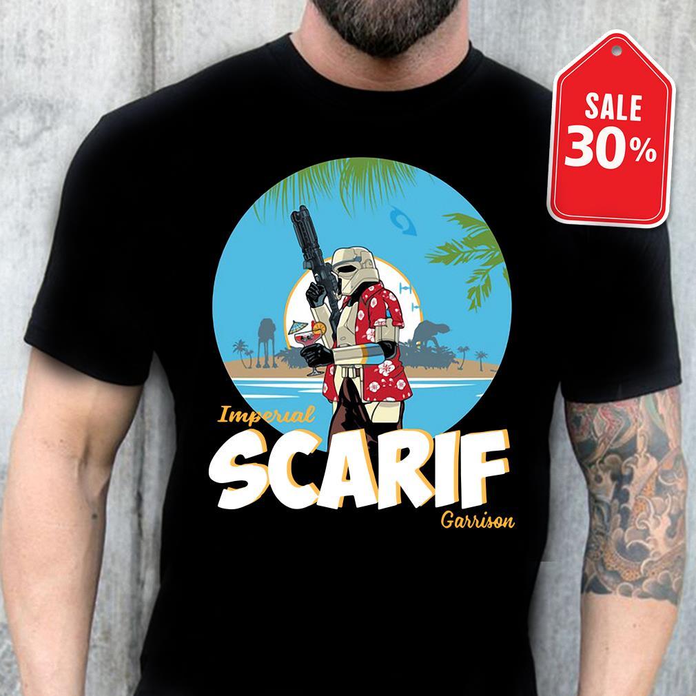 Star wars imperial Scarif garrison Guys shirt