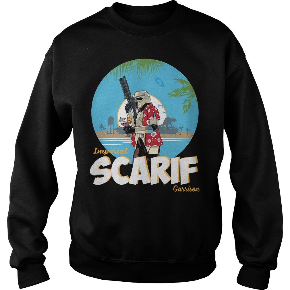 Star wars imperial Scarif garrison Sweater