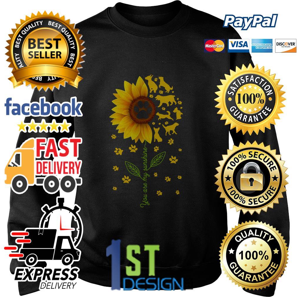 Sunflower dog you are my sunshine Sweater