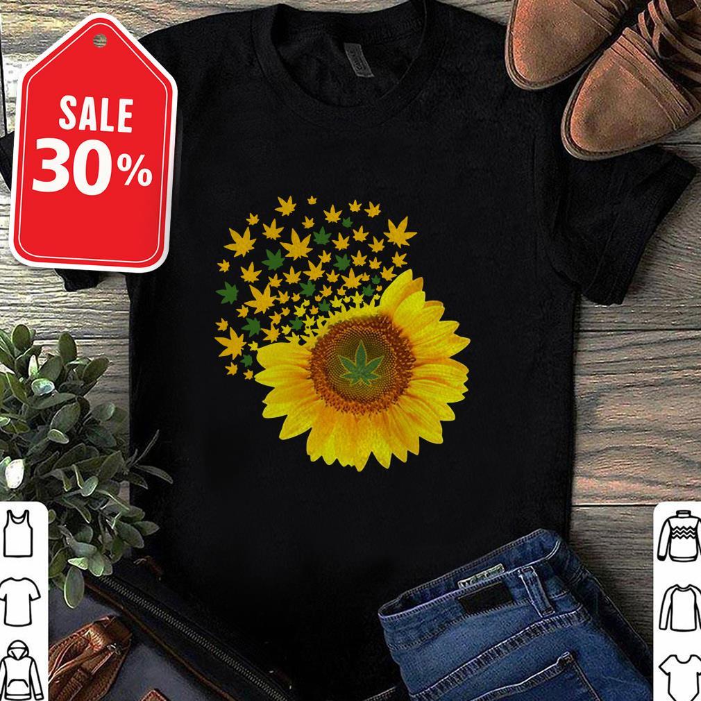 Sunflower weed Guys shirt