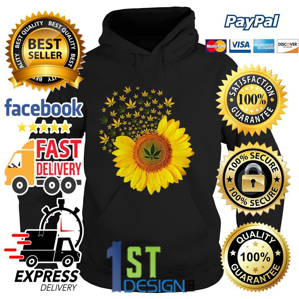 Sunflower weed smoke Hoodie