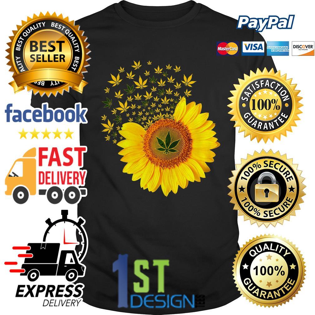 Sunflower weed smoke shirt