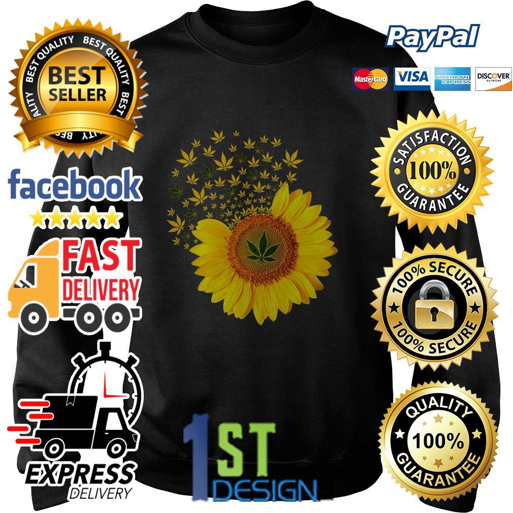 Sunflower weed smoke Sweater