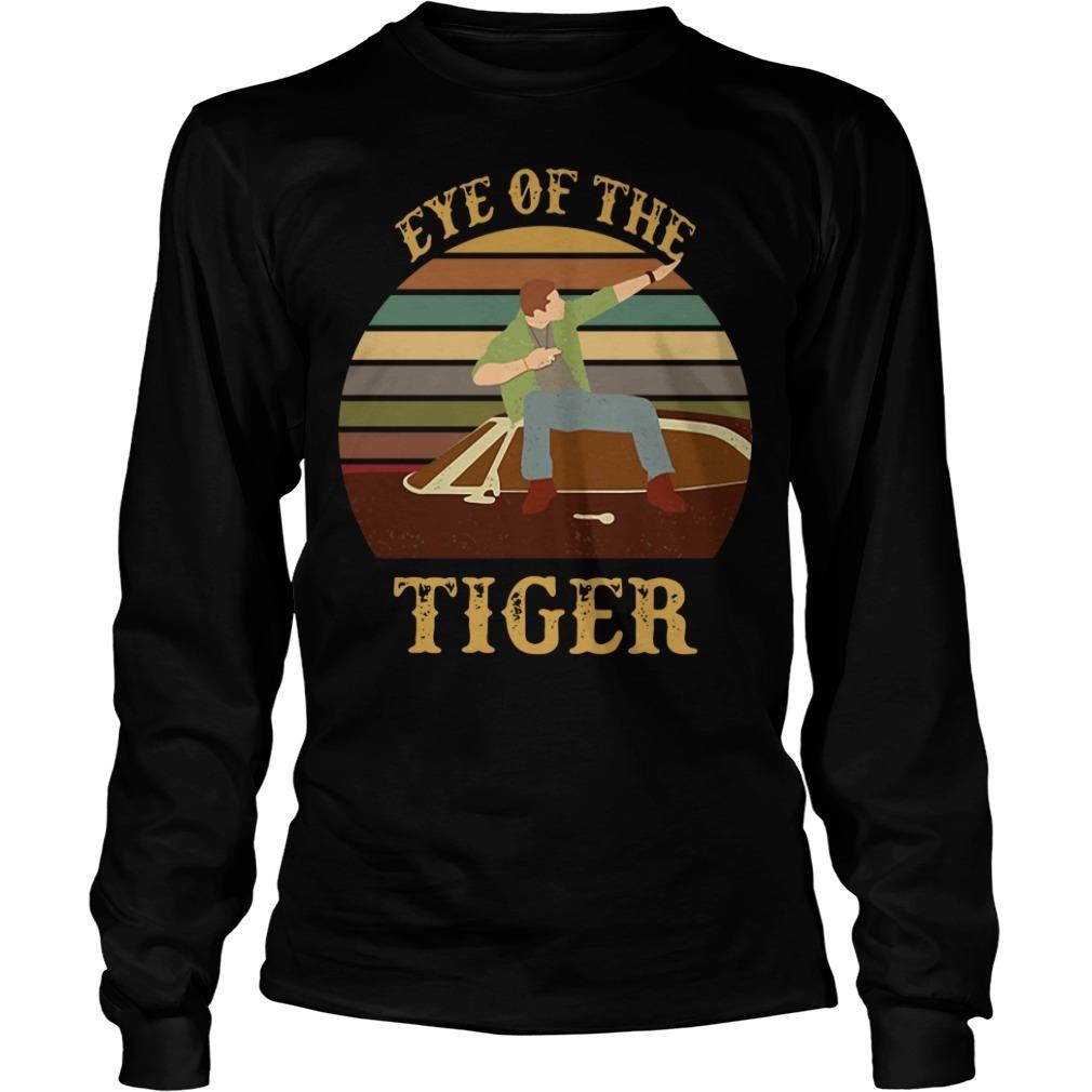 Supernatural dean eye of the tiger vintage Longsleeve Tee