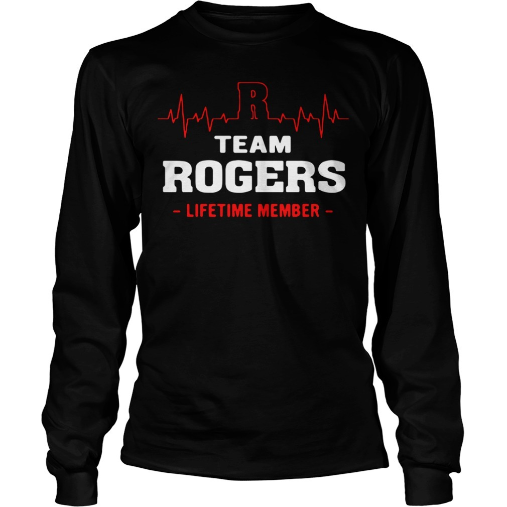 Team Rogers lifetime member Longsleeve Tee
