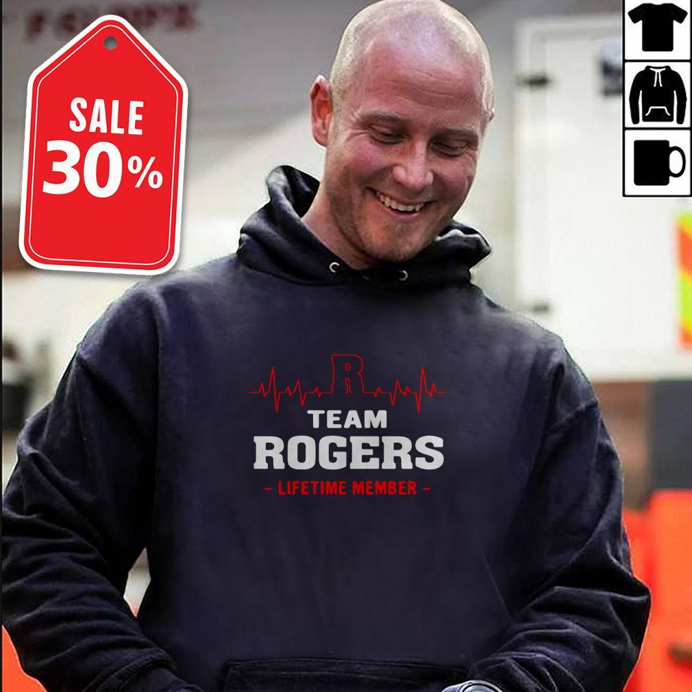 Team Rogers lifetime member T-shirt