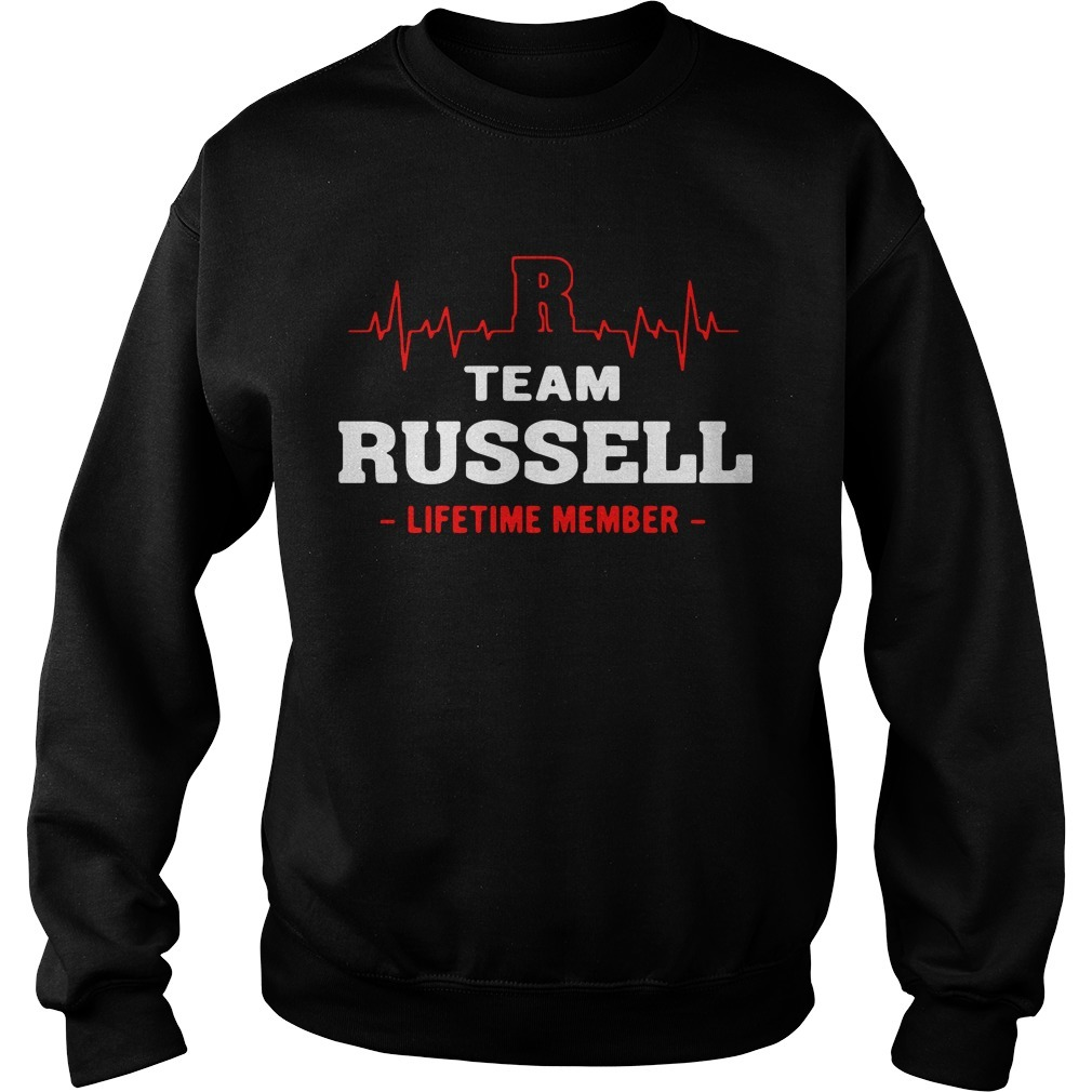 Team Russell lifetime member Sweater
