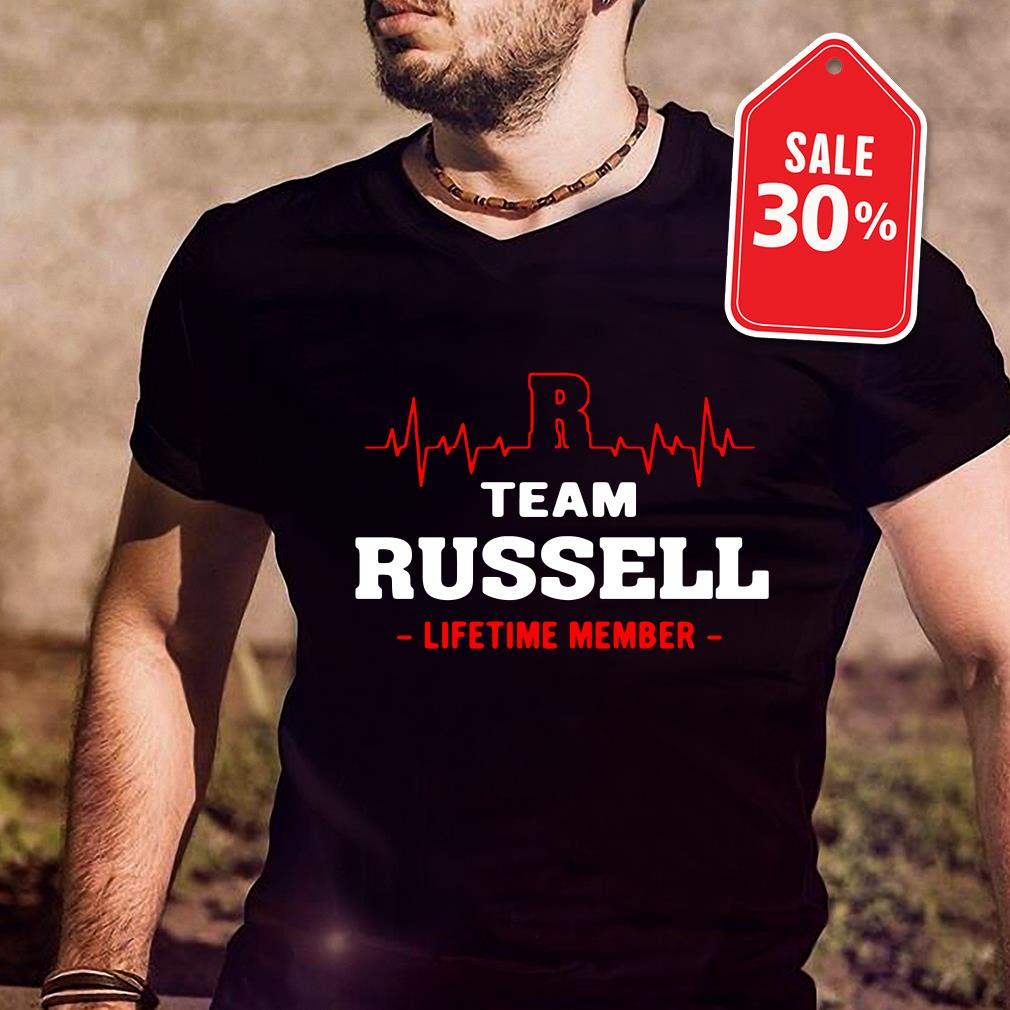 Team Russell lifetime member T-shirt