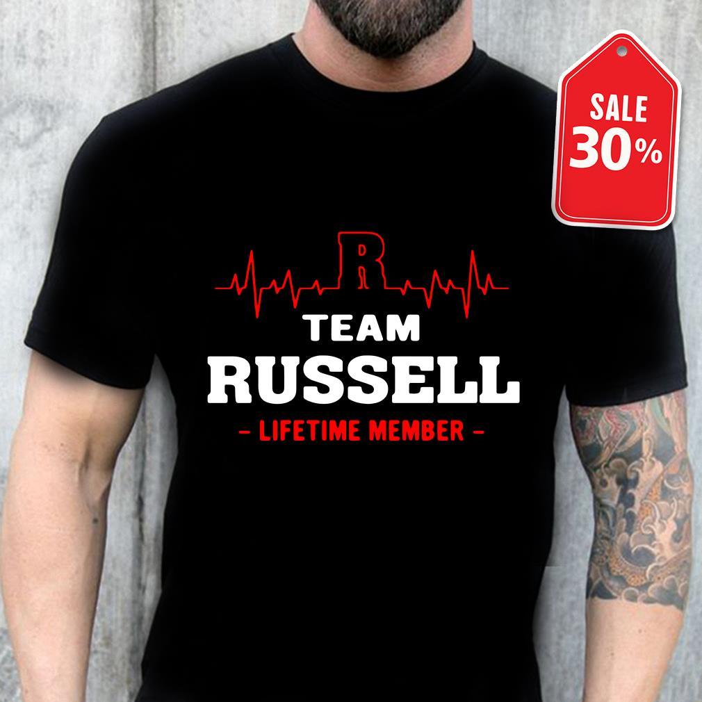Team Russell lifetime member