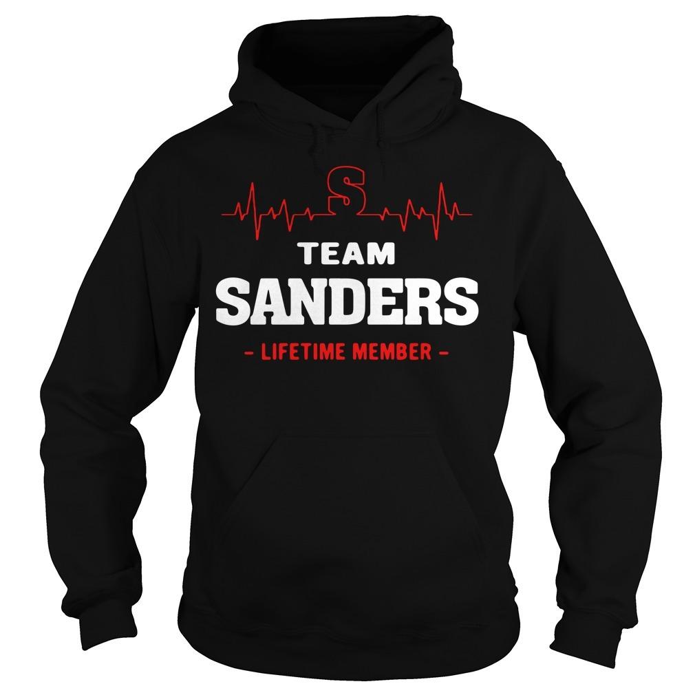 Team Sanders lifetime member Hoodie