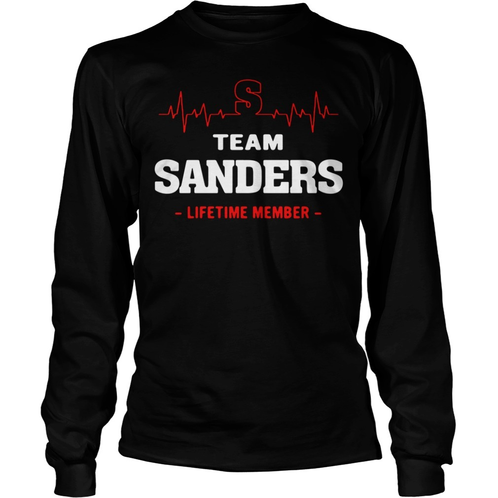 Team Sanders lifetime member Longsleeve Tee