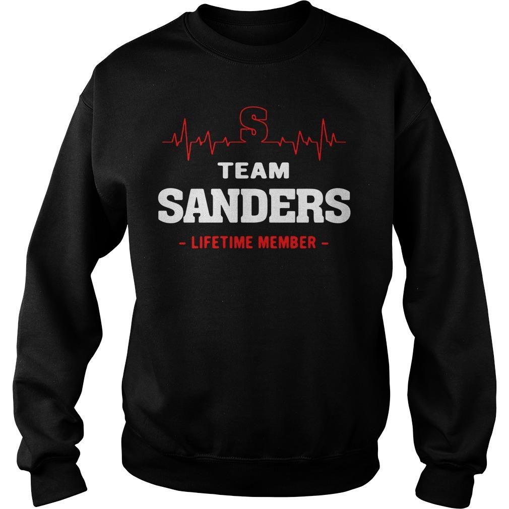 Team Sanders lifetime member Sweater