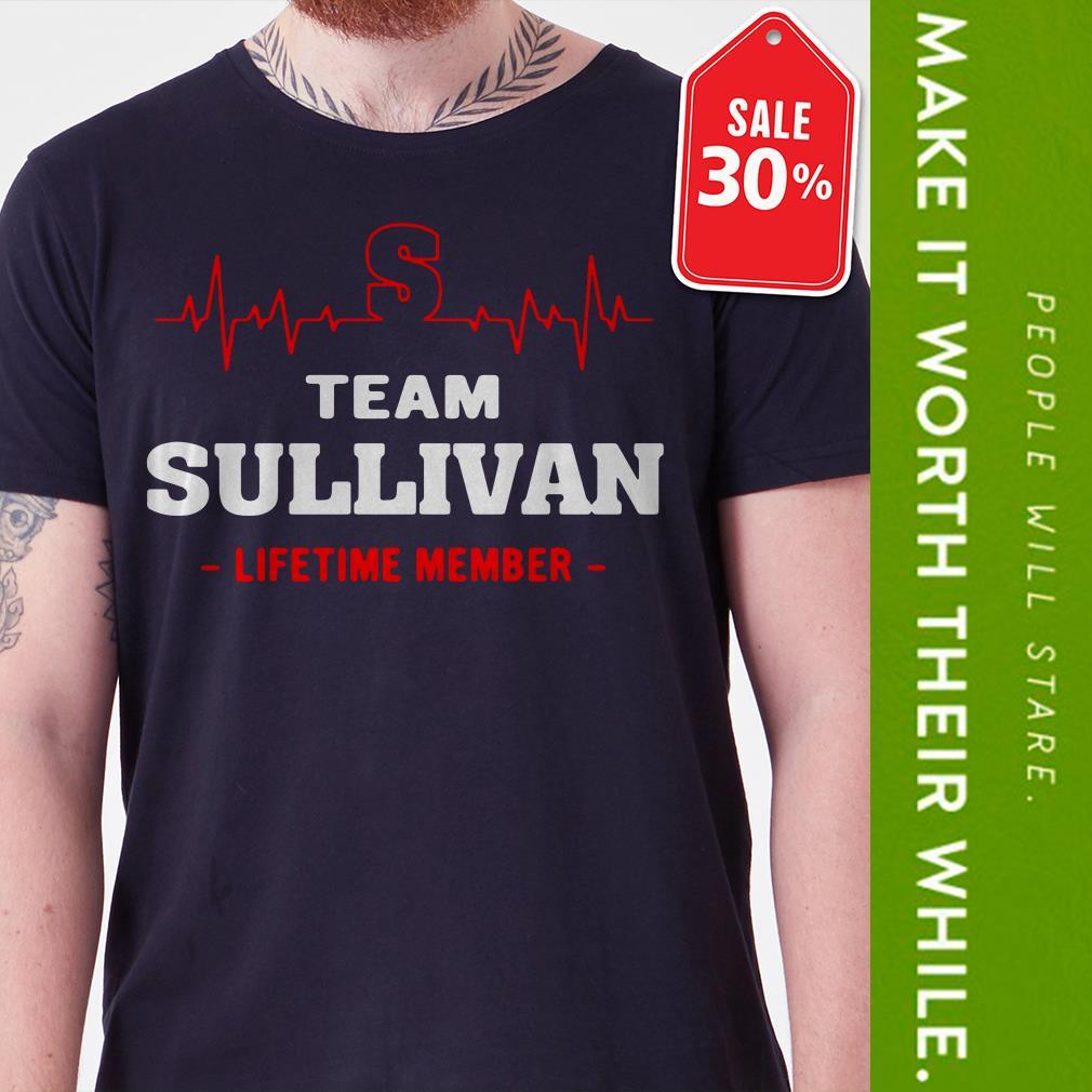 Team Sullivan lifetime member Guys shirt