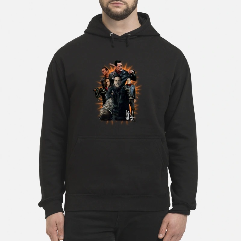 The walking dead Negan signature Hoodie