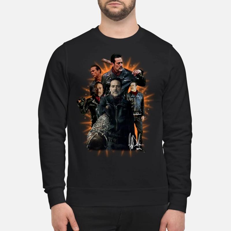 The walking dead Negan signature Sweater