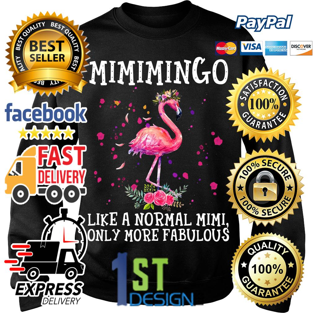 Flamingo floral Mimimingo like a normal Mimi only more fabulous Sweater