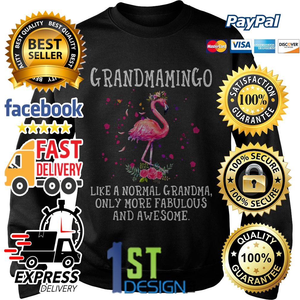 Flamingo grandmamingo like a normal grandma only more fabulous Sweater
