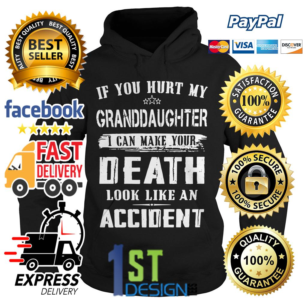 If you hurt my granddaughter I can make your death look like Hoodie