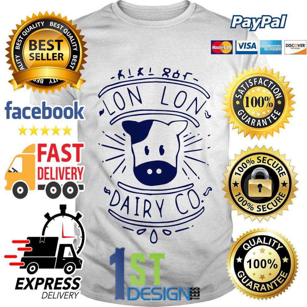 Lon Lon dairy co shirt