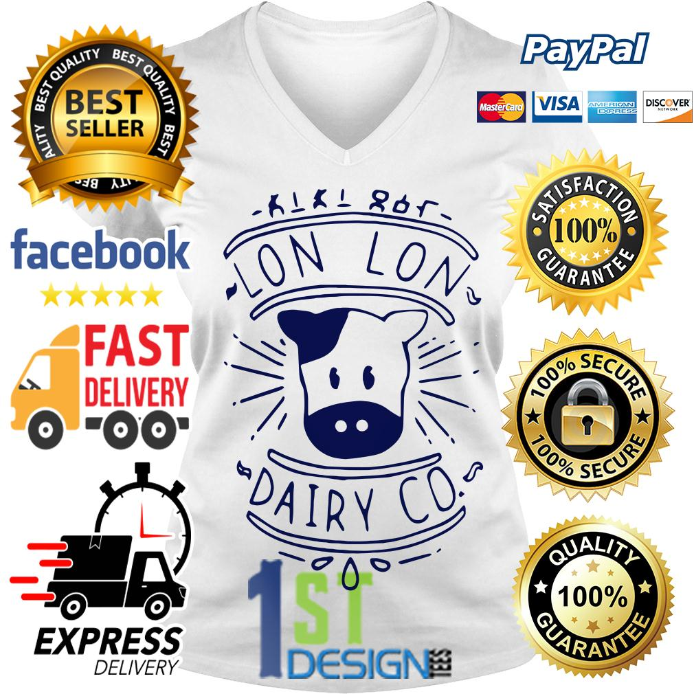 Lon Lon dairy co V-neck T-shirt