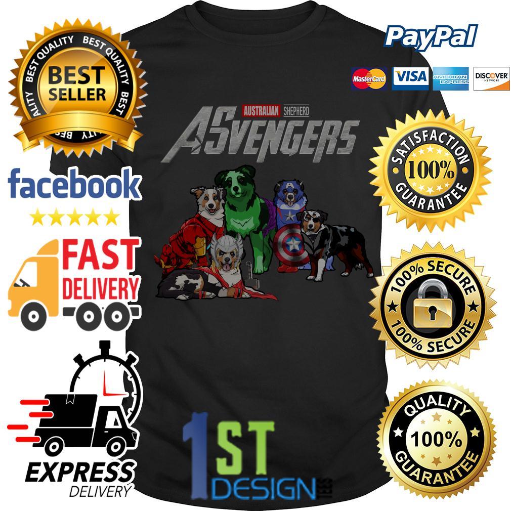 Marvel Avengers Endgame Australian Shepherd ASvengers shirt