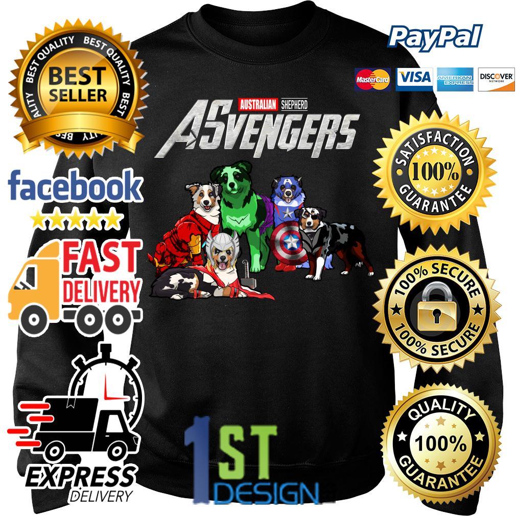 Marvel Avengers Endgame Australian Shepherd ASvengers Sweater