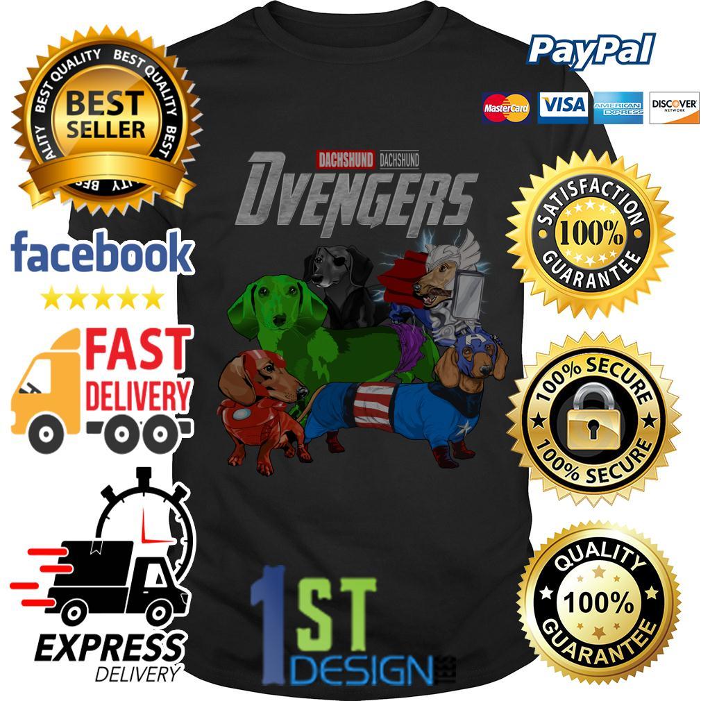 Marvel Avengers Endgame Dachshund Dvengers shirt