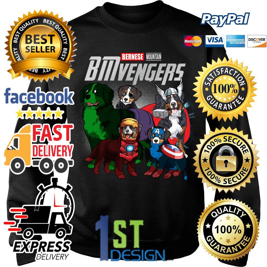 Marvel Bernese Mountain BMvengers Avengers Sweater