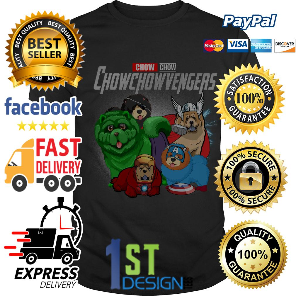Marvel Chow Chow Chowchowvengers Avengers shirt