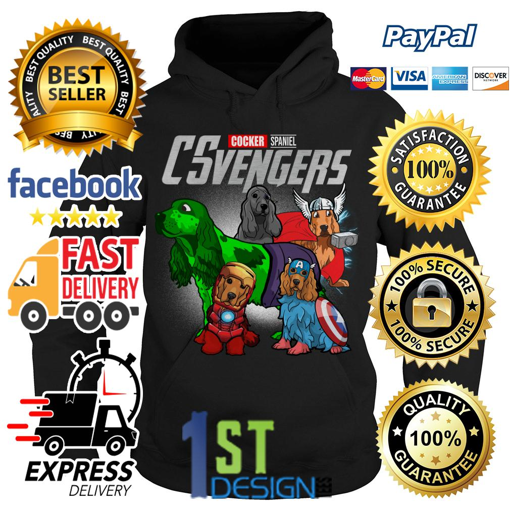 Marvel Cocker Spaniel CSvengers Avengers Hoodie