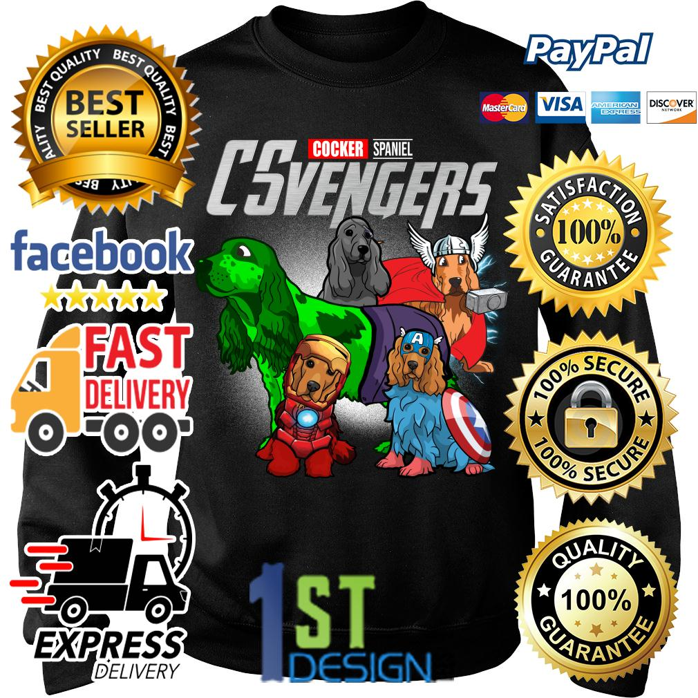 Marvel Cocker Spaniel CSvengers Avengers Sweater