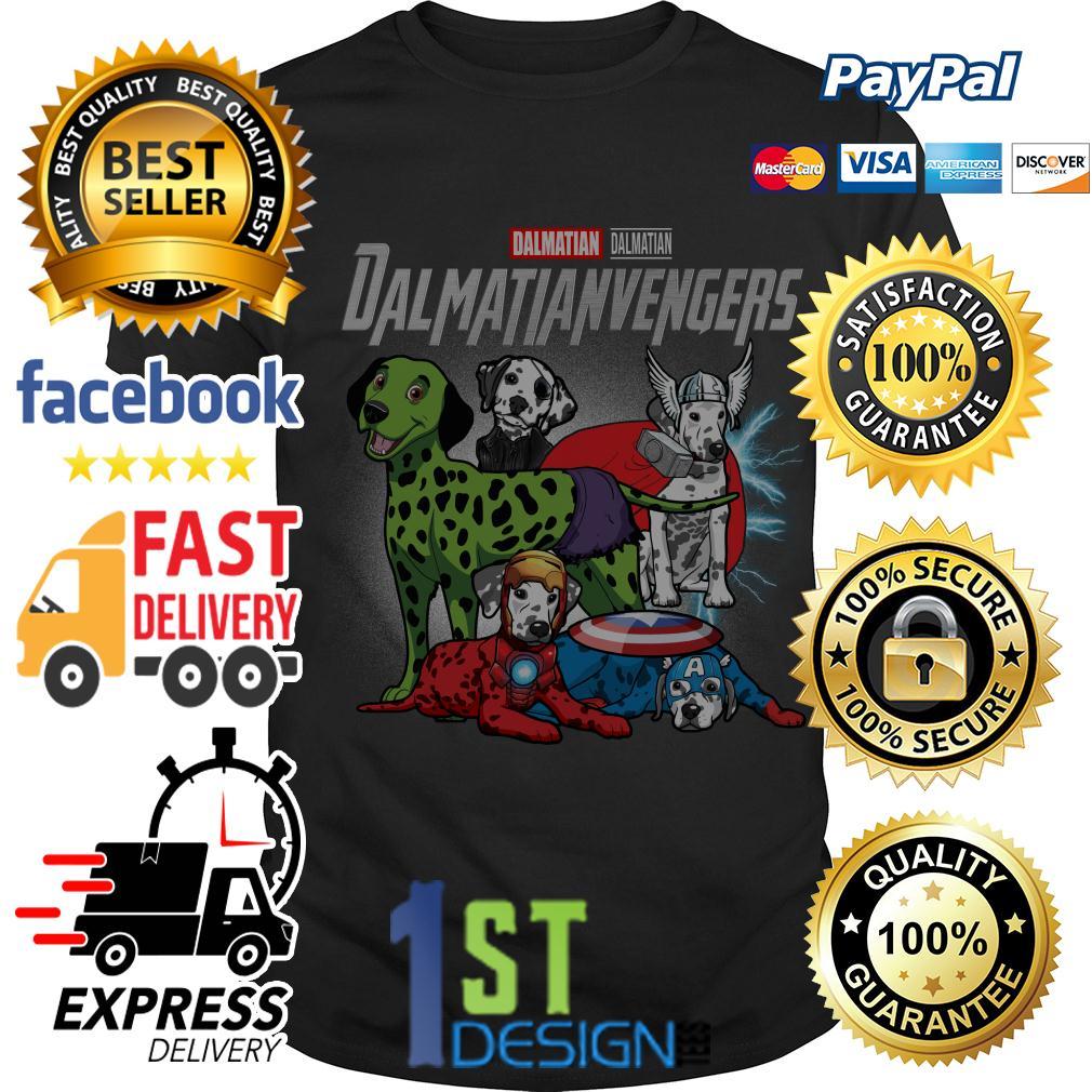 Marvel Dalmatian Dalmatianvengers Avengers shirt