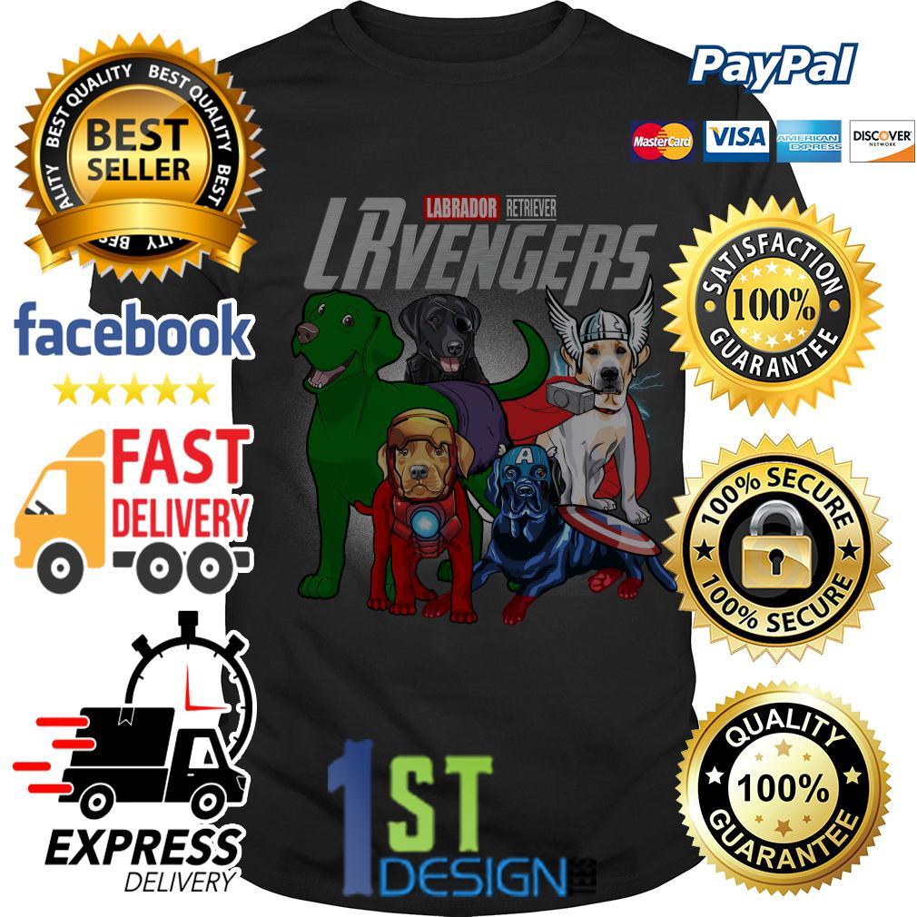 Marvel Labrador Retriever LRvengers Avengers shirt