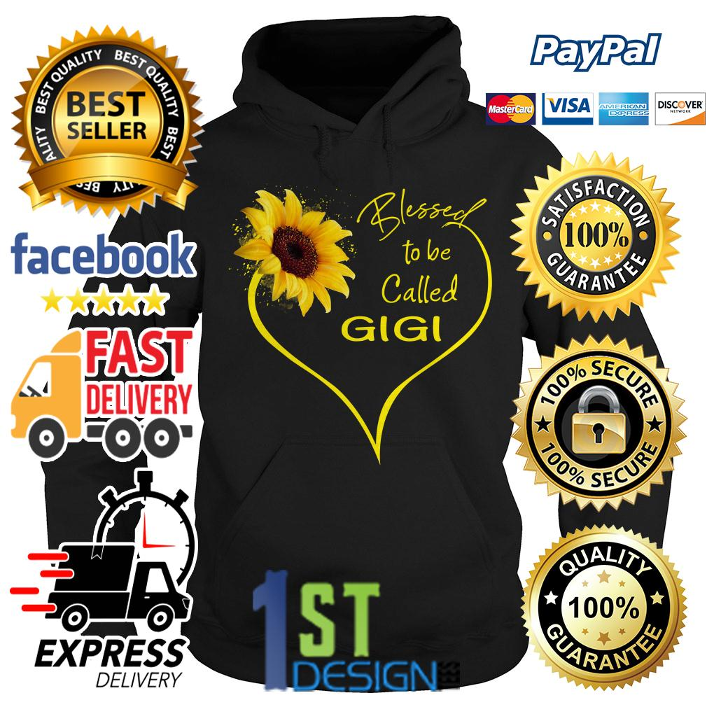 Sunflower blessed to be called Gigi Hoodie
