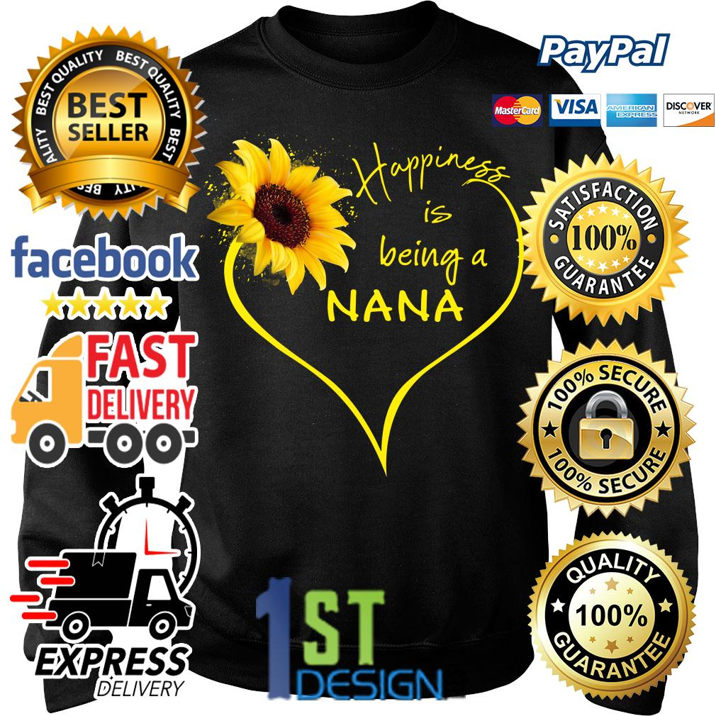 Sunflower happiness is being a Nana Sweater