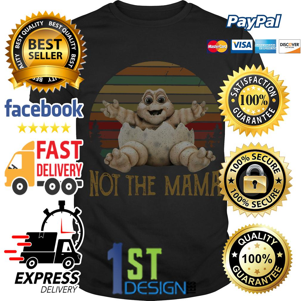 Baby Sinclair TV show 90's not the Mama vintage shirt