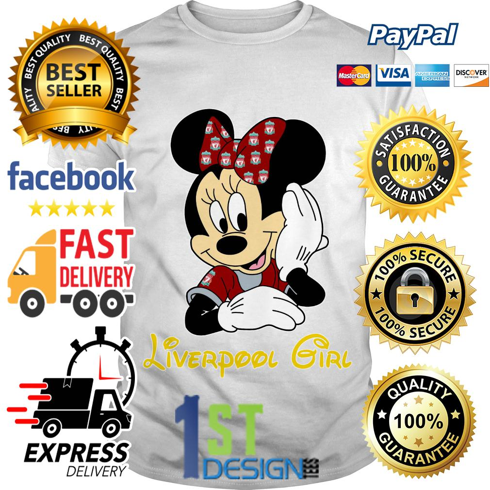 Disney Minnie mouse Liverpool girl shirt