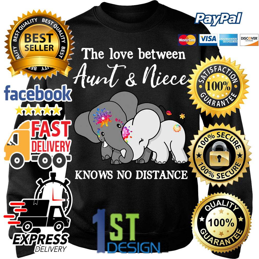 Elephant the love between aunt and niece knows no distance Sweater