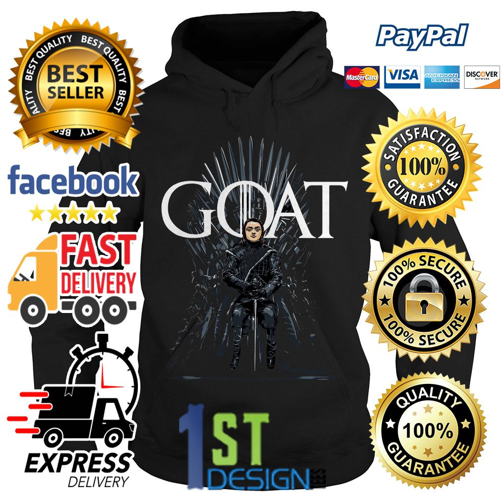 Game of Thrones Arya Stark Goat Hoodie