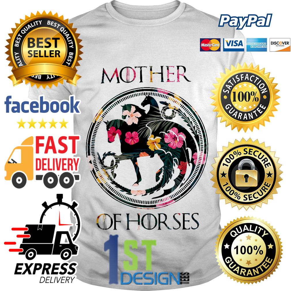 Game of Thrones floral mother of horses shirt